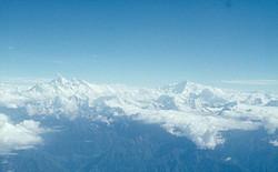 Über dem Mount Everest